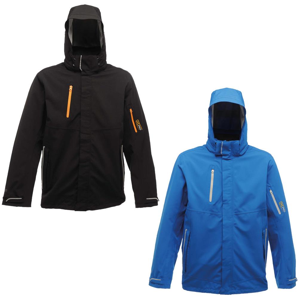 Mens regatta jacket - Mens Regatta Stormflap With Chin Guard X Pro Exosphere Stretch Jacket Size S 3xl