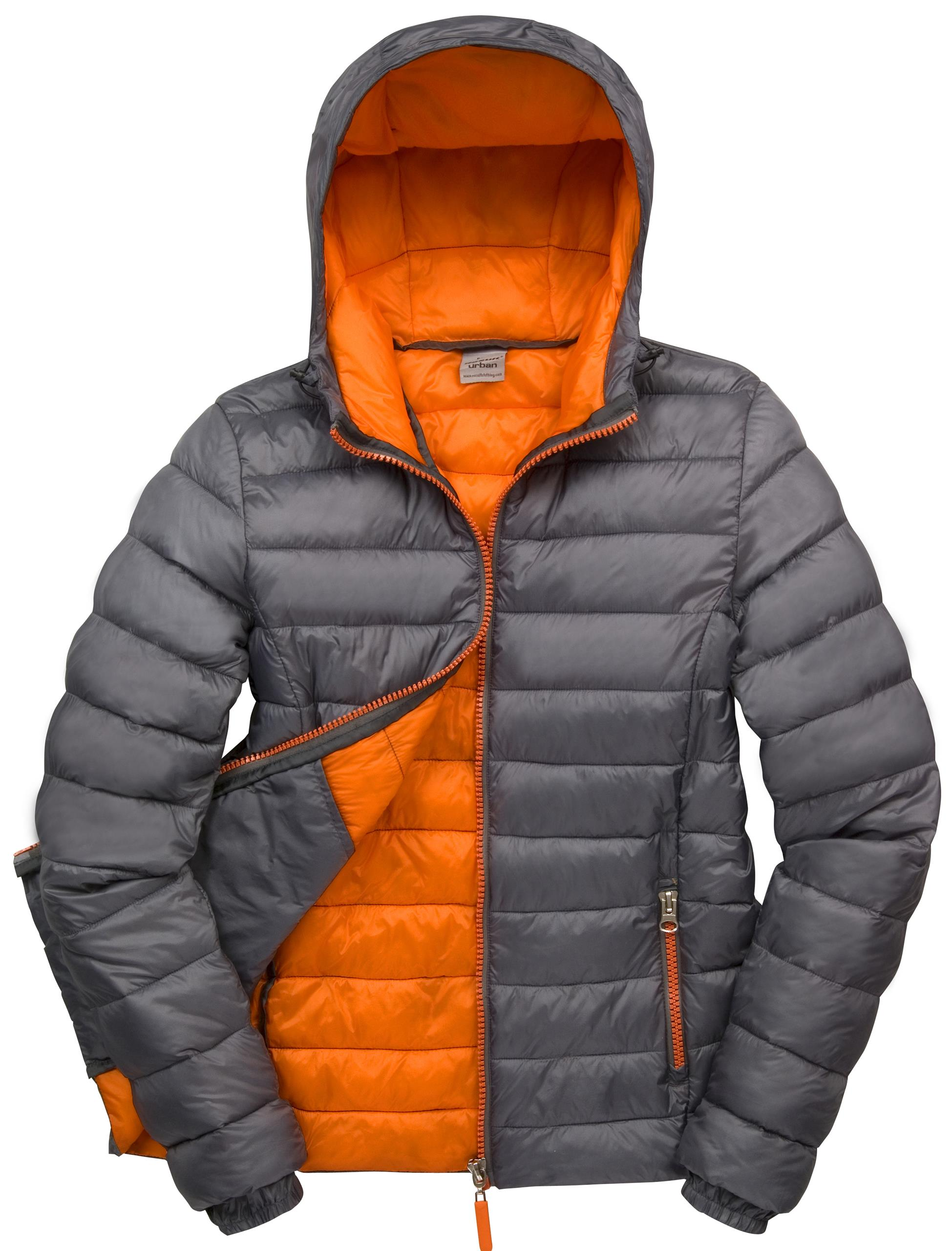 New Womens Result Urban Outdoor Adjustable Hood Quilted Puffer ...