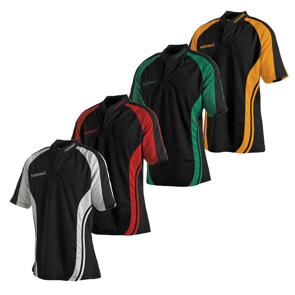 Design shirt kooga - Kids Kooga Themal Mix Designed Teamwear Phase Ii Panel Match Shirt Size Smb Yth