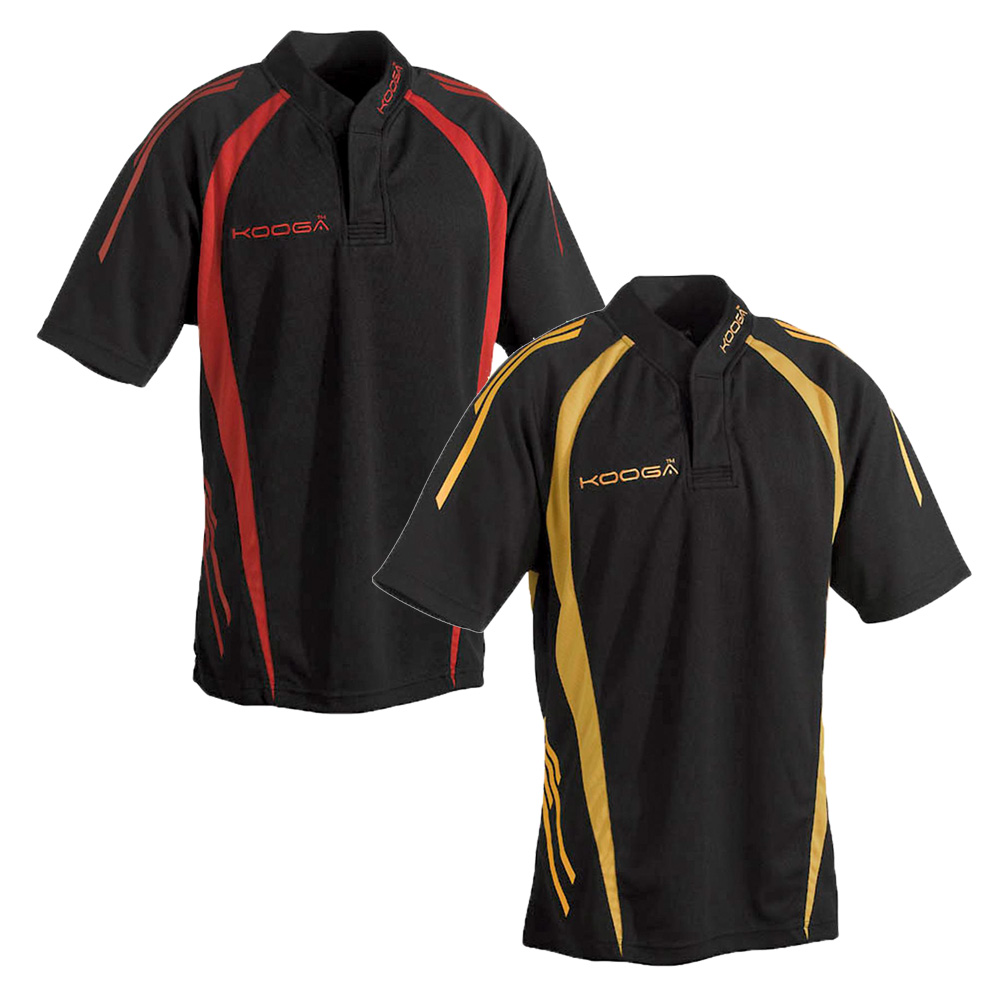 Design shirt kooga - Kids Kooga Logo Themal Mix Design Teamwear Print Panel Match Shirt Size Smb Yth