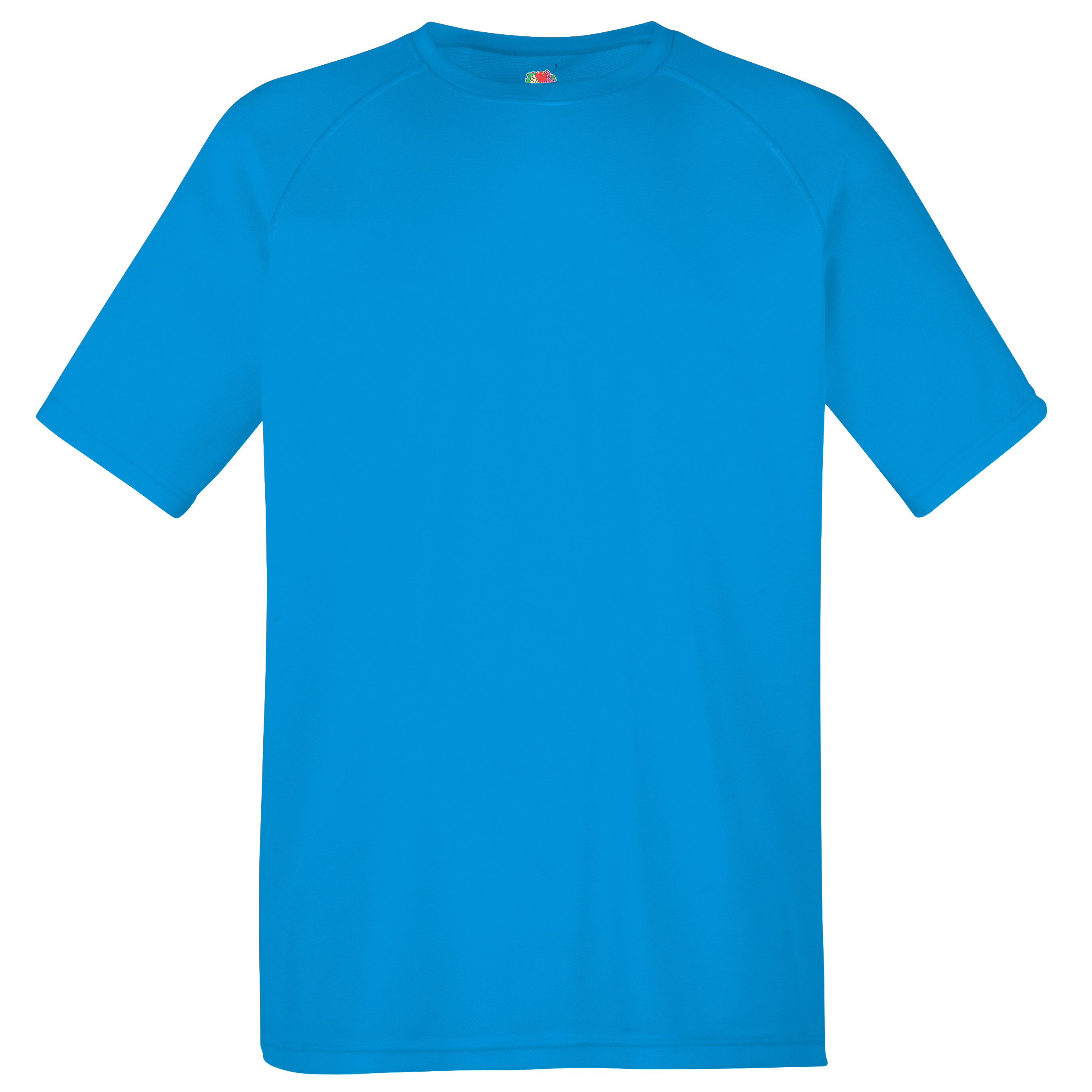 New Fruit of the Loom Childrens Kids Performance Sports Tshirt 4 Colours 6 Sizes
