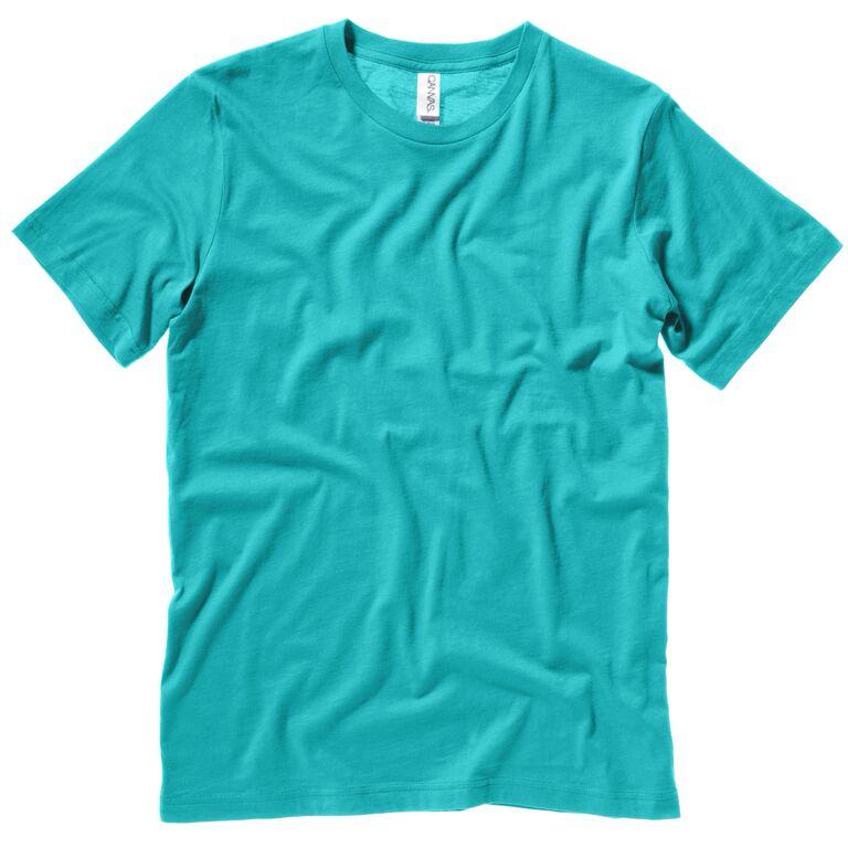 New Unisex Bella Canvas Cotton Jersey Short Sleeved Crewneck T-shirt Size XS-2XL