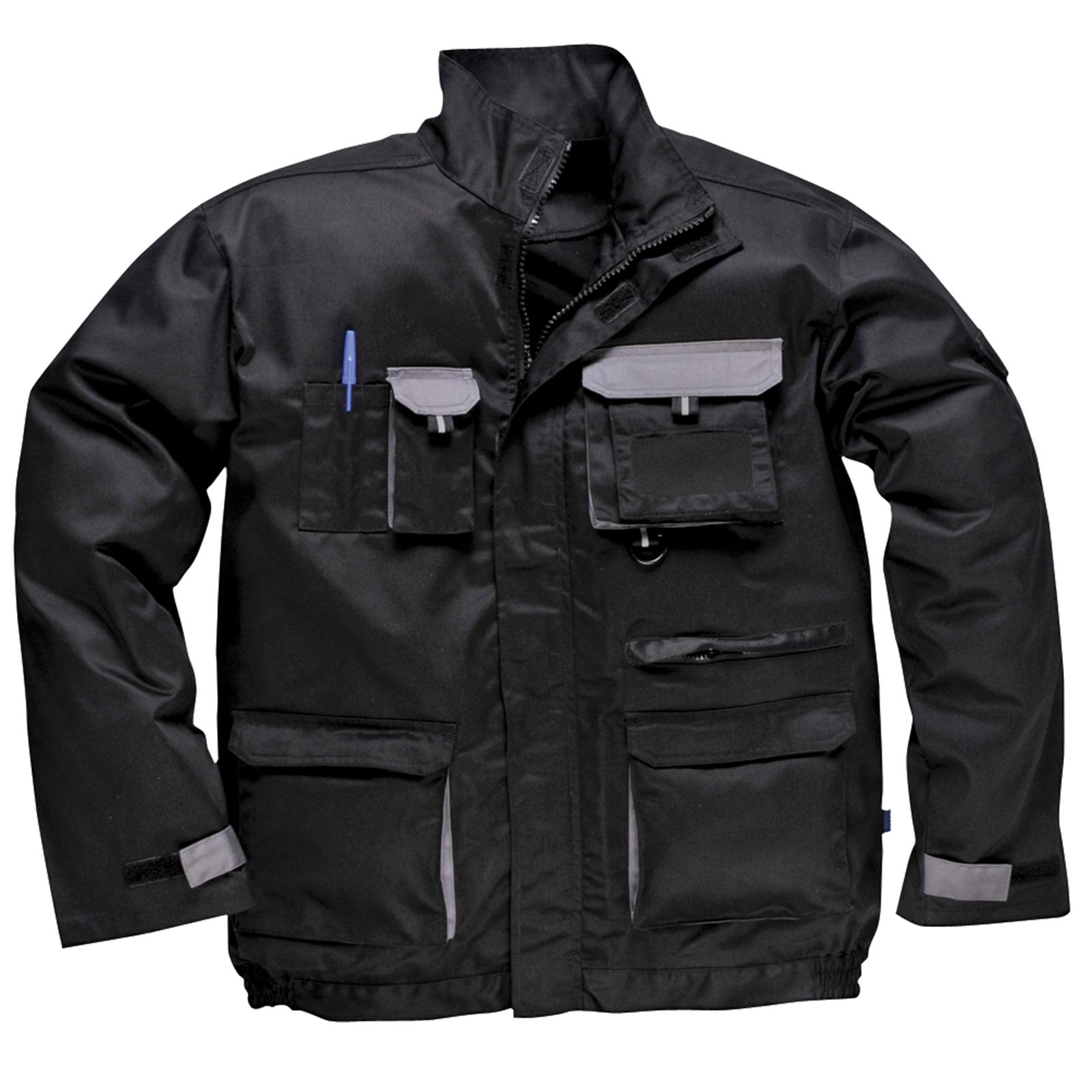 About Men's Work & Utility Jackets Tough and warm men's work jackets are perfect for outdoor jobs, whether the job involves heavy lifting, digging or operating machinery in the elements. Men's work jackets keep your mind off of the temperature and on to the work .
