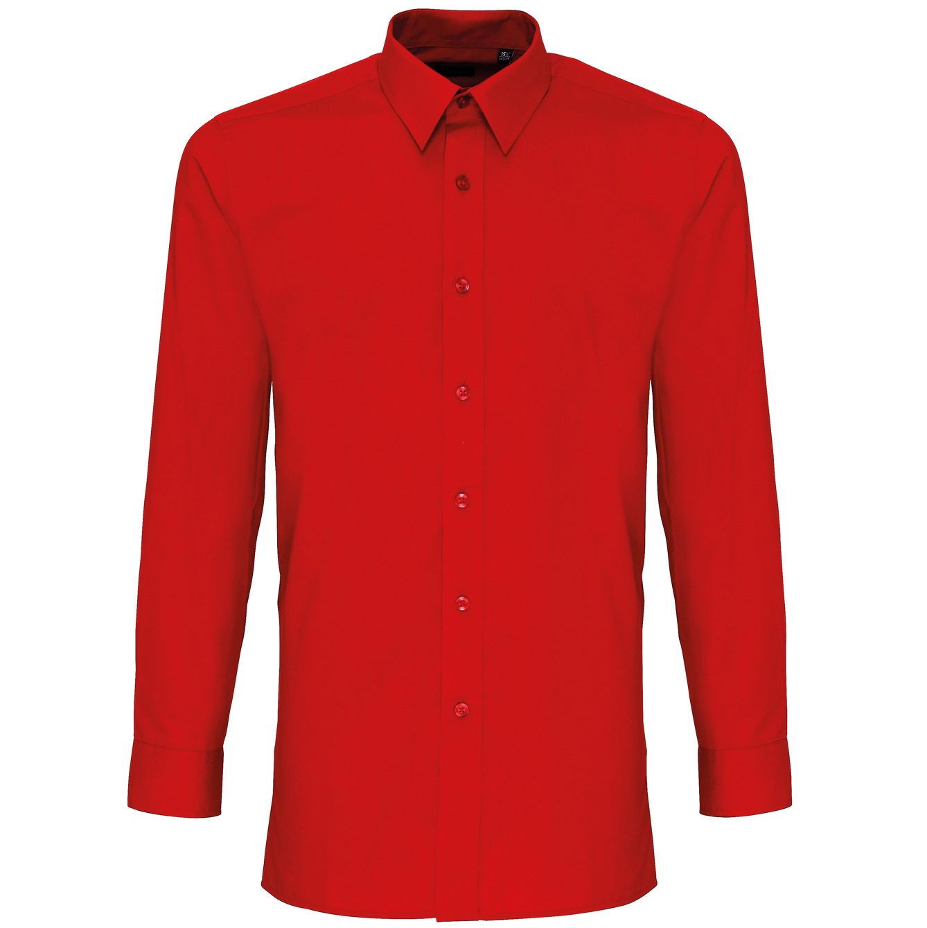 Mens fitted poplin shirt fashionable slim fit style formal for Mens slim fit formal shirts uk