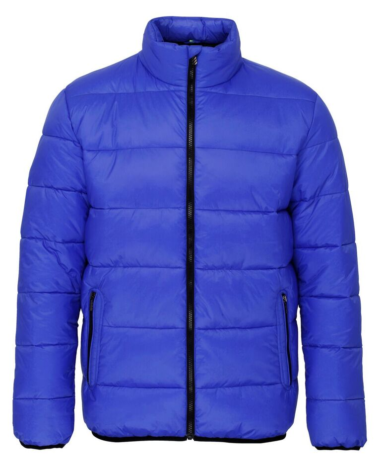 Men/'s 2786 Comfort Fit Venture Supersoft Zip Quilted Padded Jacket Size XS-2XL