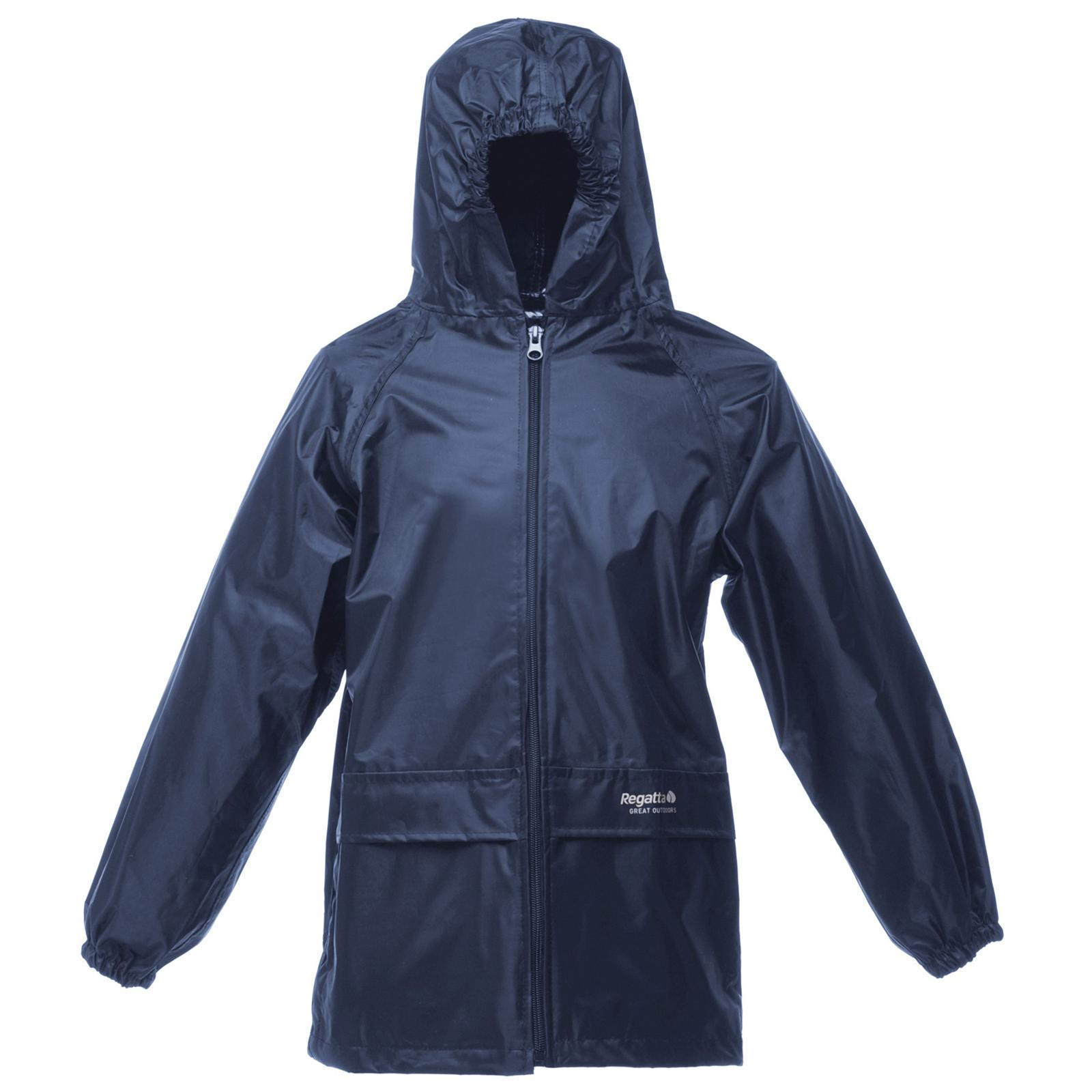 New REGATTA Childrens Kids Stormbreak Waterproof Rain ...