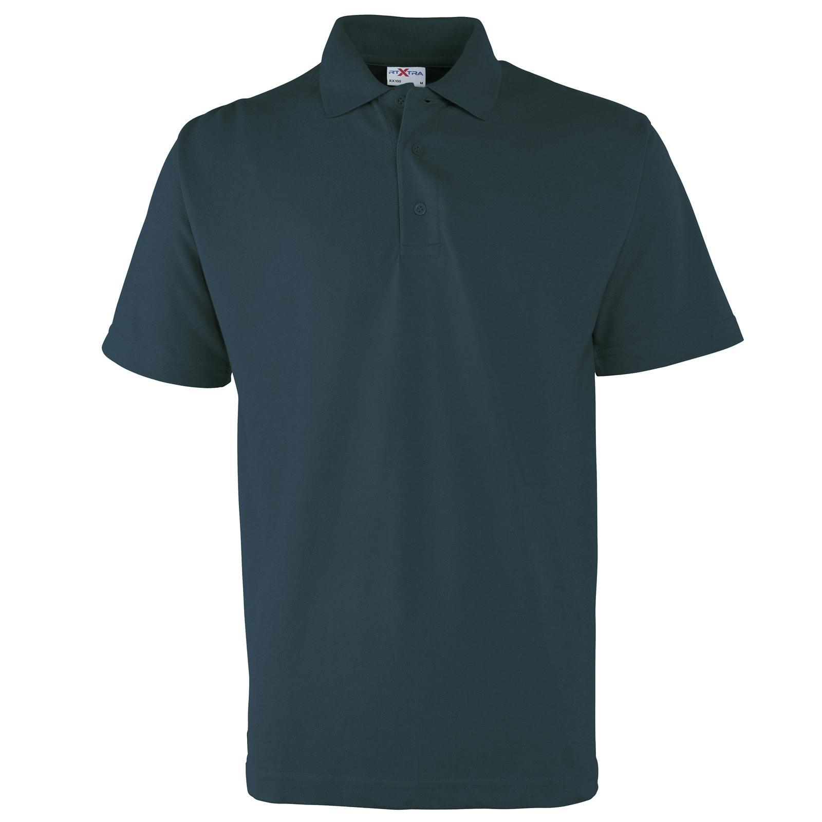new rtxtra mens casual classic 3 button pique polo shirt