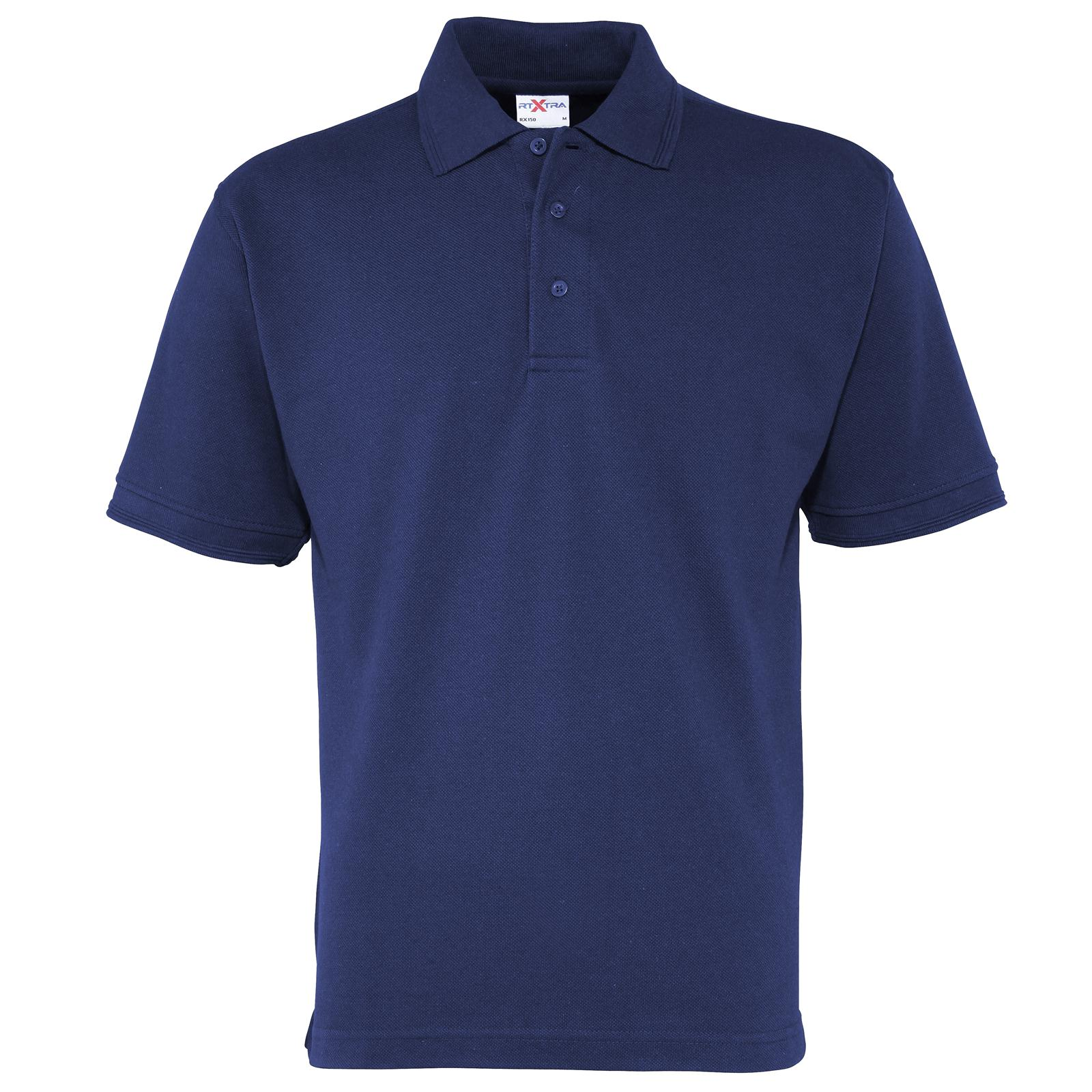 4XL New RTXTRA Mens Premium Casual Classic Pique Polo Shirt in 6 Colours S