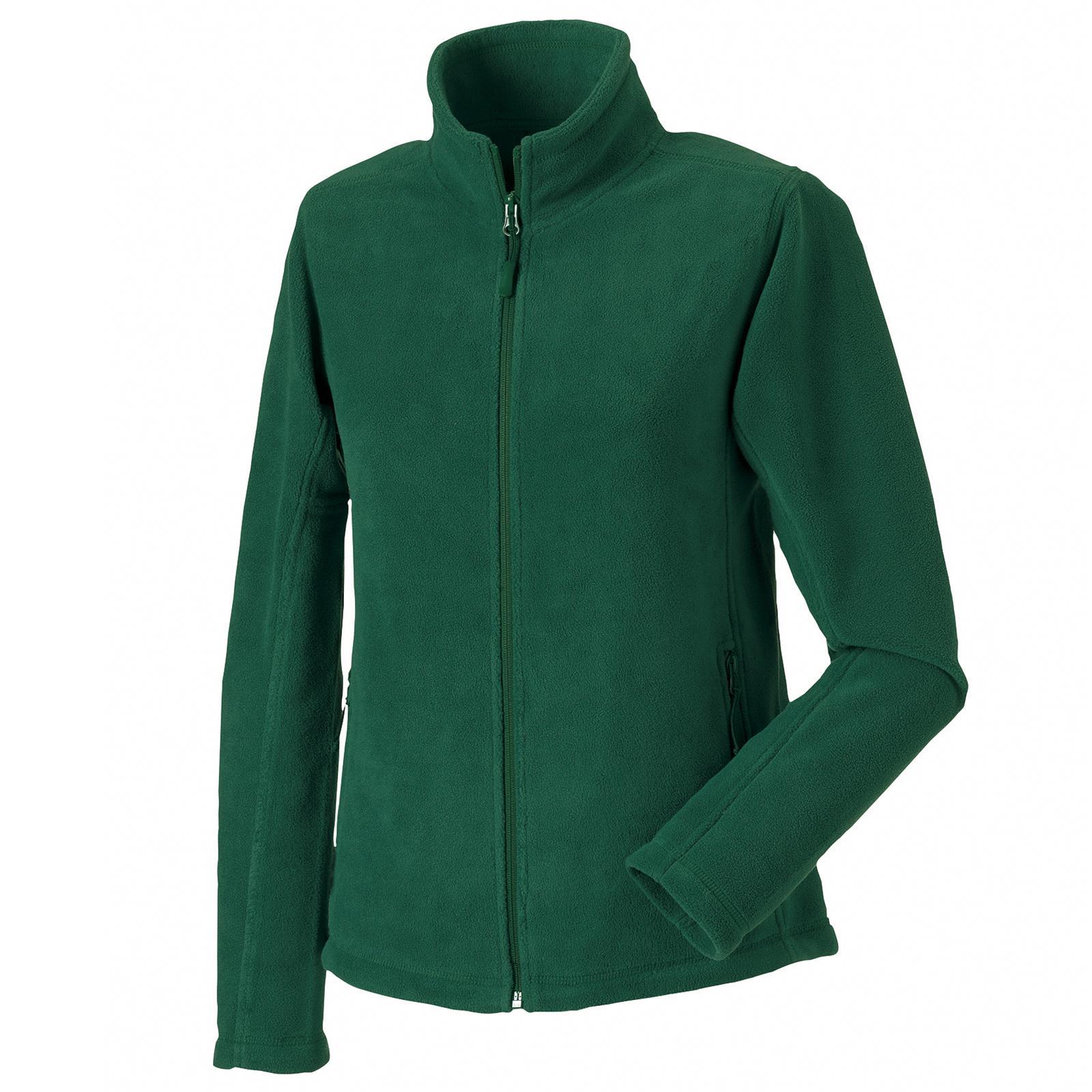 New RUSSELL Ladies Womens Full Zip Outdoor Fleece Jacket in 9 ...