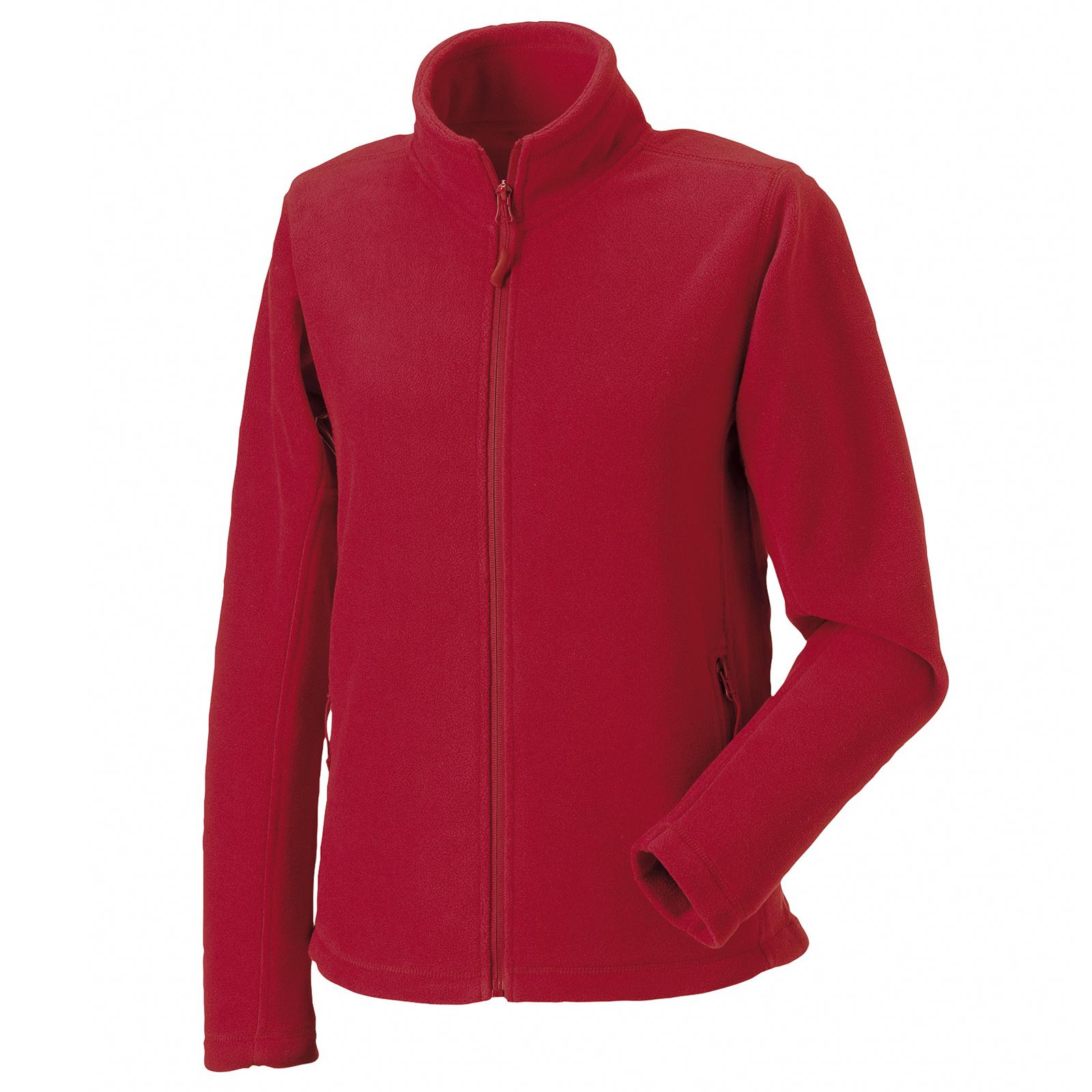 New RUSSELL Ladies Womens Full Zip Outdoor Fleece Jacket in 9 ...