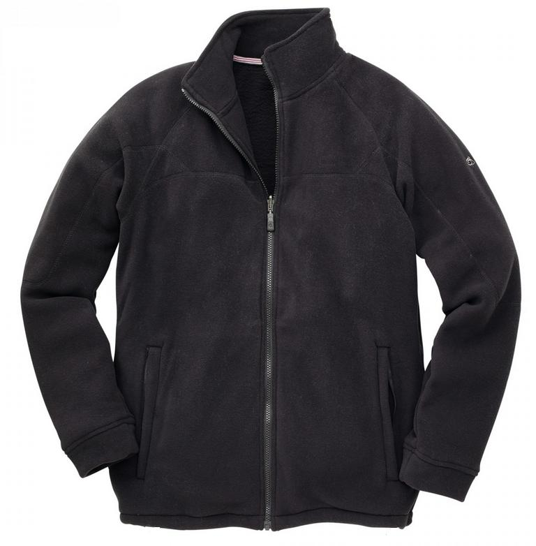 New CRAGHOPPERS Mens Basecamp Full Zip Micro Fleece Jacket in 3 ...