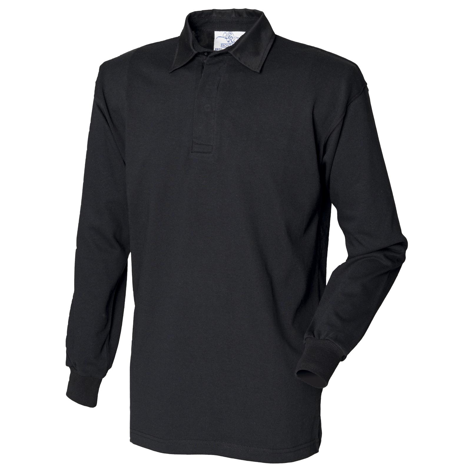 New Front Row Mens Casual Long Sleeve Classic Rugby Style Shirt 14 Colours S 4xl
