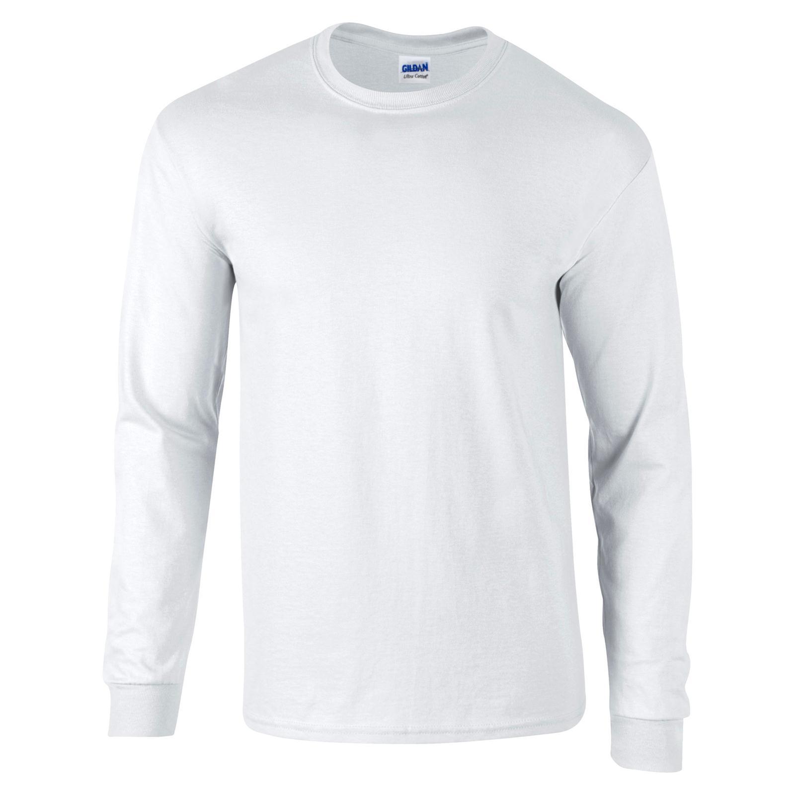 Nueva Camiseta GILDAN Unisex Adultos Ultra Algodón Manga Larga ... 59042ea942d