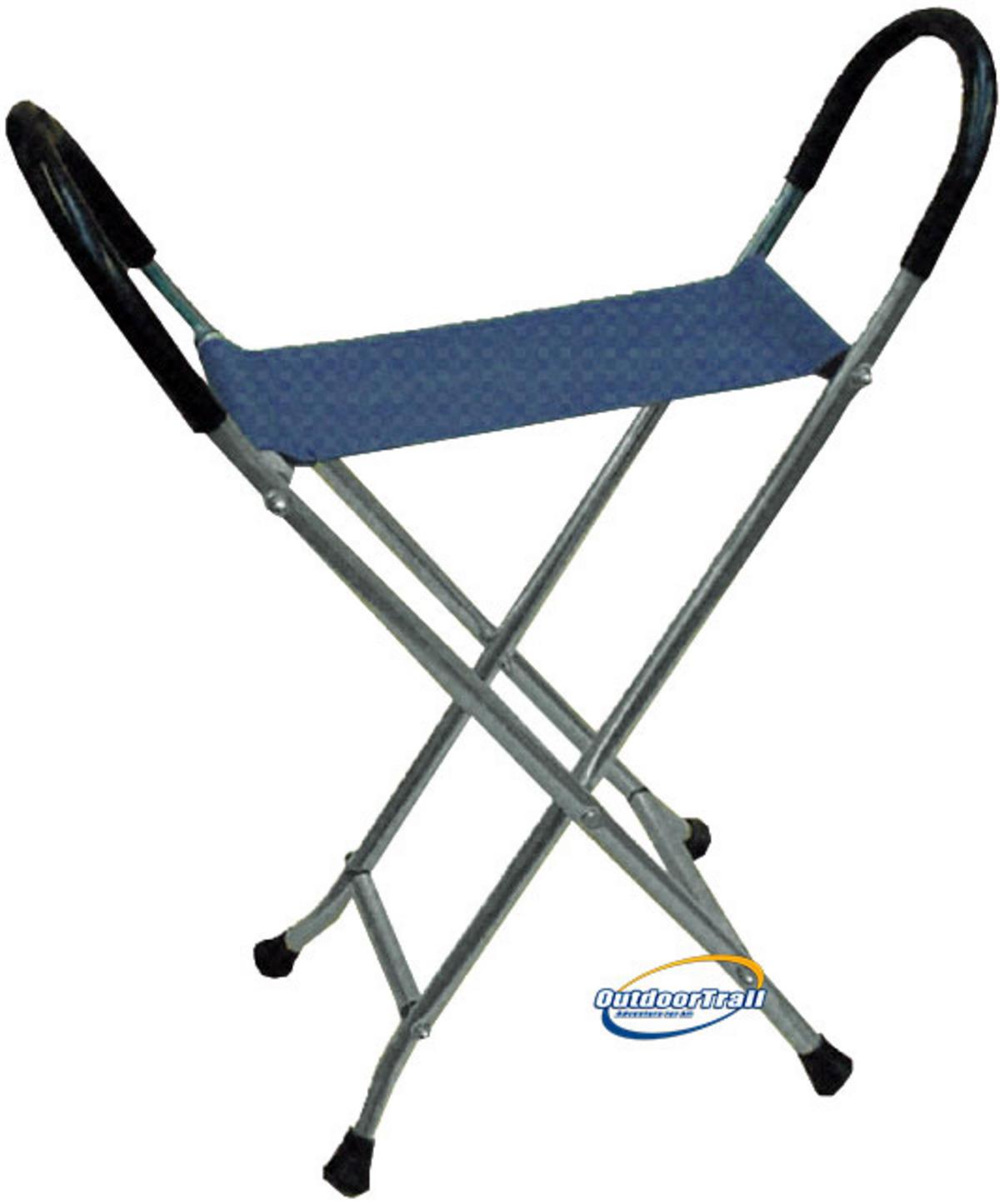 Folding Alloy Walking Stick Chair Outdoor Trail Ltd