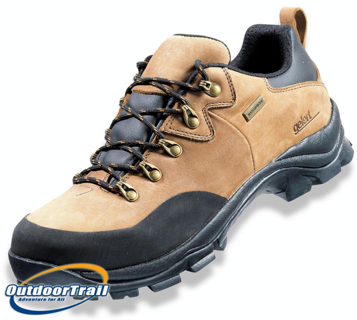 Gelert Leather Walking Shoes