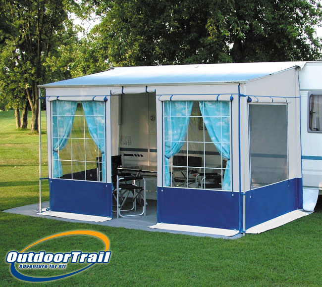 Details about Kruga Safari Large / 300cm Long Universal Awning Privacy ...