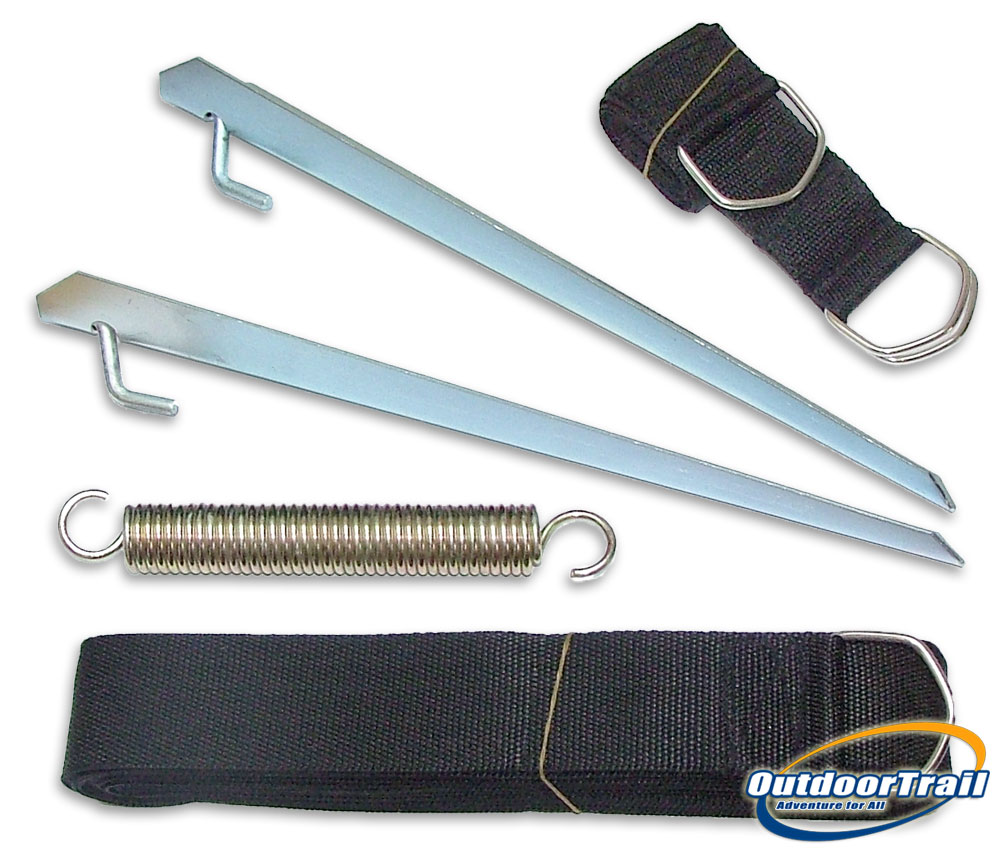 Carefree Caravan / Motorhome Awning Storm Tie Down Strap Kit 