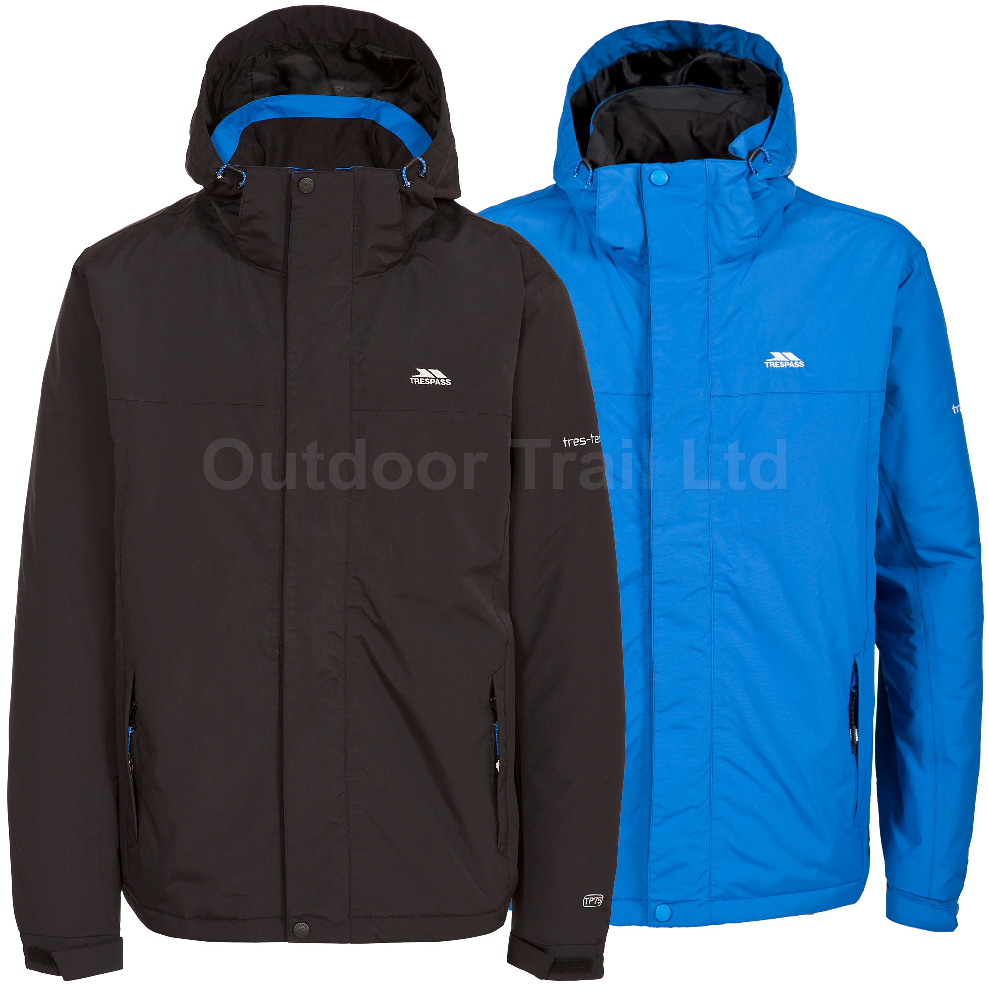 Trespass Donelly Mens Waterproof Walking Jacket Coat Warm ...