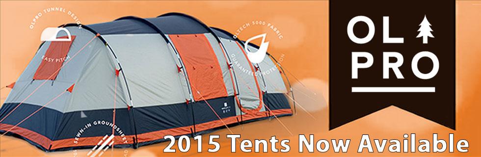 OLPRO 2015 Tent Range