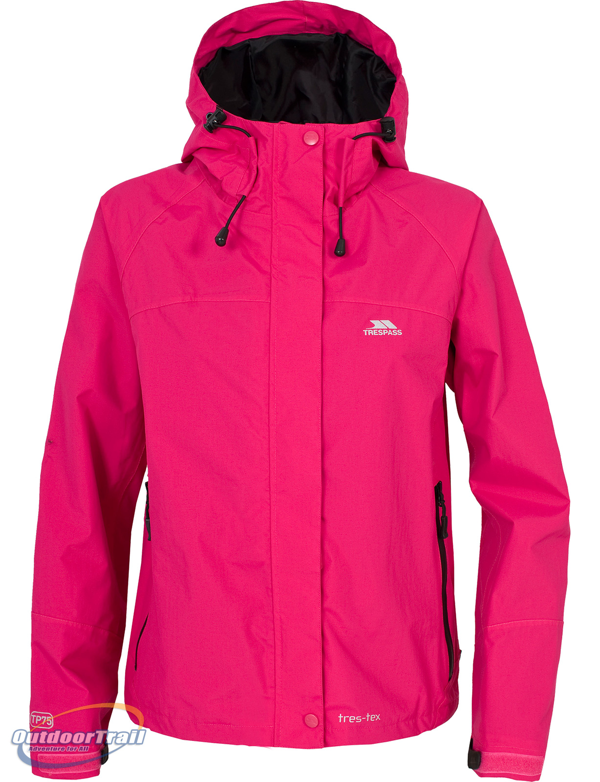 Trespass-Miyake-Ladies-Waterproof-Windproof-Breathable-Walking-Jacket