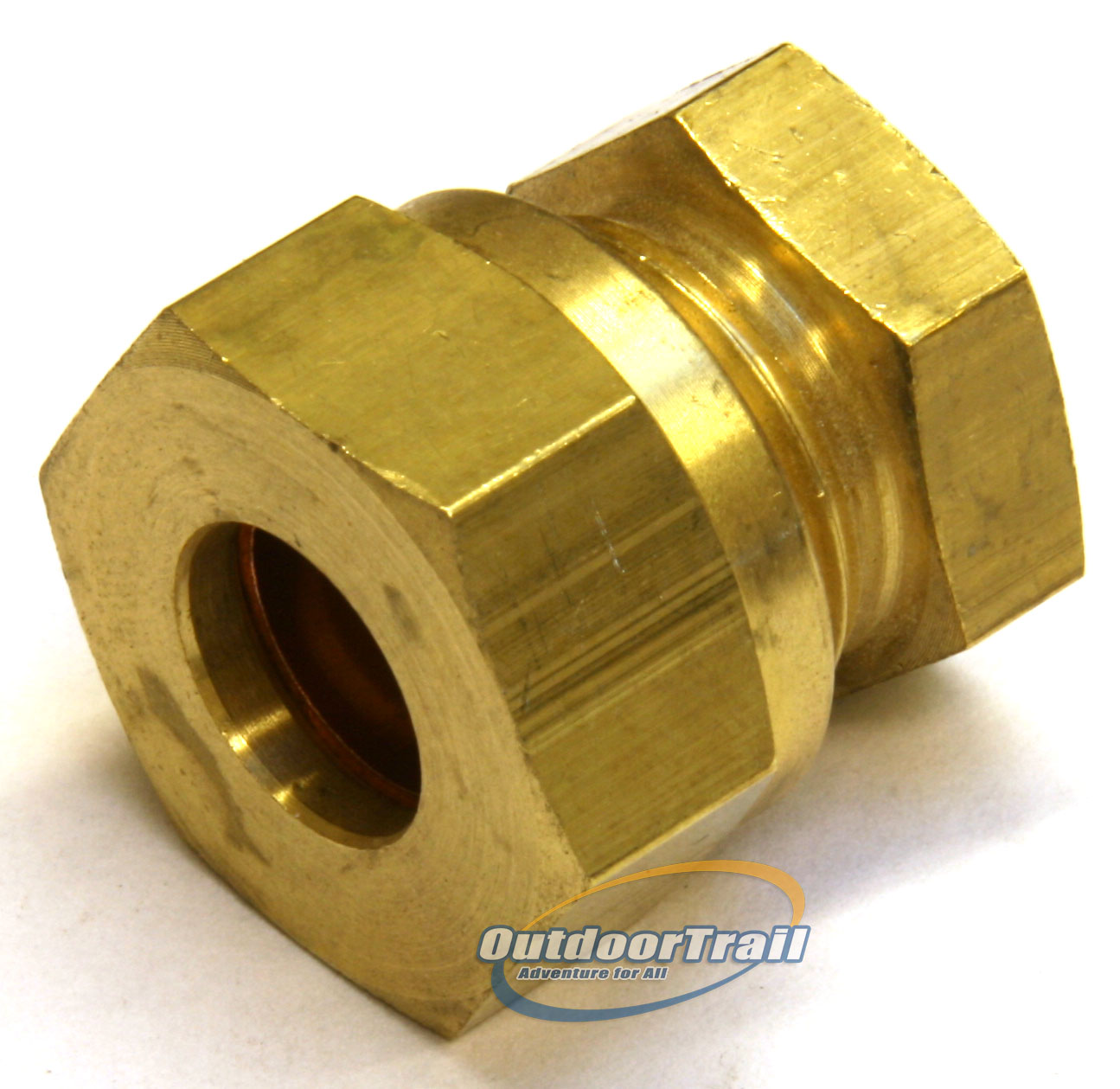 10mm copper pipe compression stop end blank for gas pipe