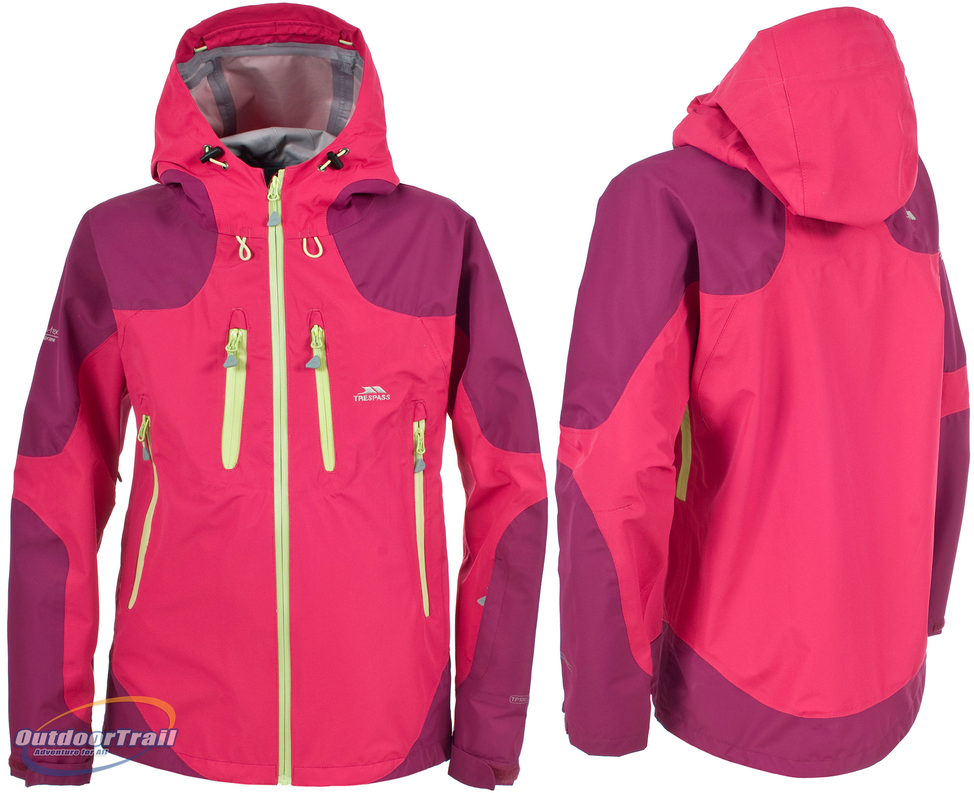 Trespass Amorette Womens Extreme Waterproof Windproof Walking ...