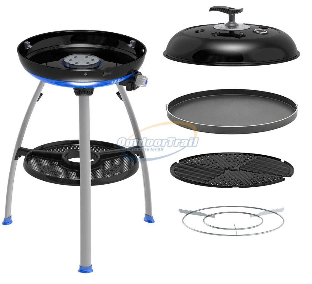 cadac carri chef 2 deluxe gas bbq chef combo outdoor grill. Black Bedroom Furniture Sets. Home Design Ideas