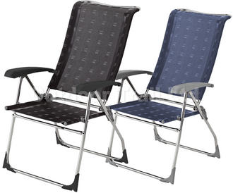 2x Dukdalf Aspen Lightweight Reclining Chairs