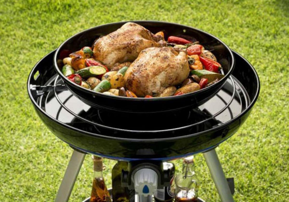 cadac carri chef 2 enamel non stick roast pan outdoor. Black Bedroom Furniture Sets. Home Design Ideas