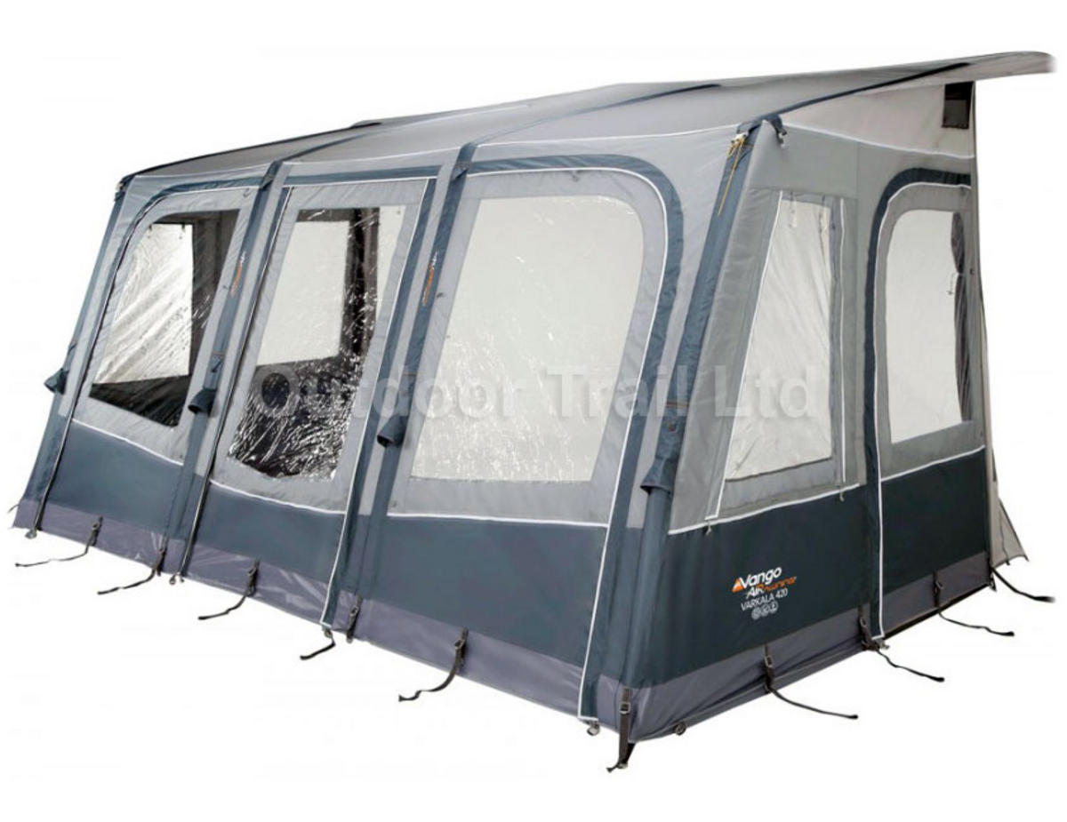 Vango Varkala 420 Caravan Air Porch Awning (2015) Preview
