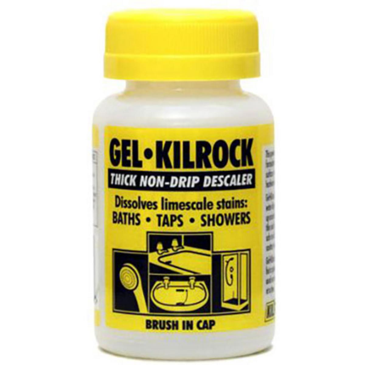 kilrock descaler gel brush on limescale remover 160ml. Black Bedroom Furniture Sets. Home Design Ideas