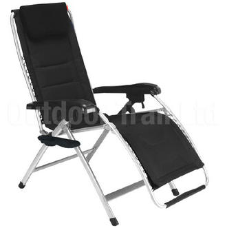 Crusader Reclining Padded Relaxer Lounger Chair