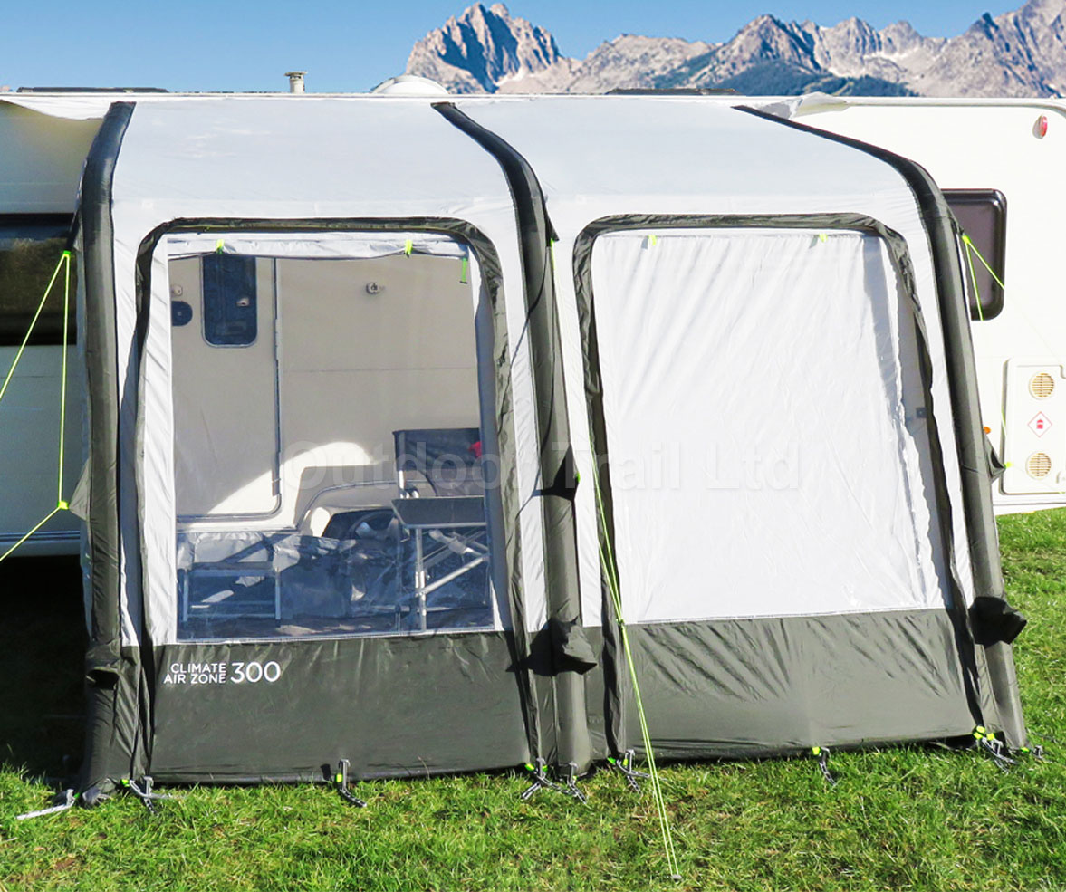Crusader Climate Air Zone 300 Inflatable Caravan Porch