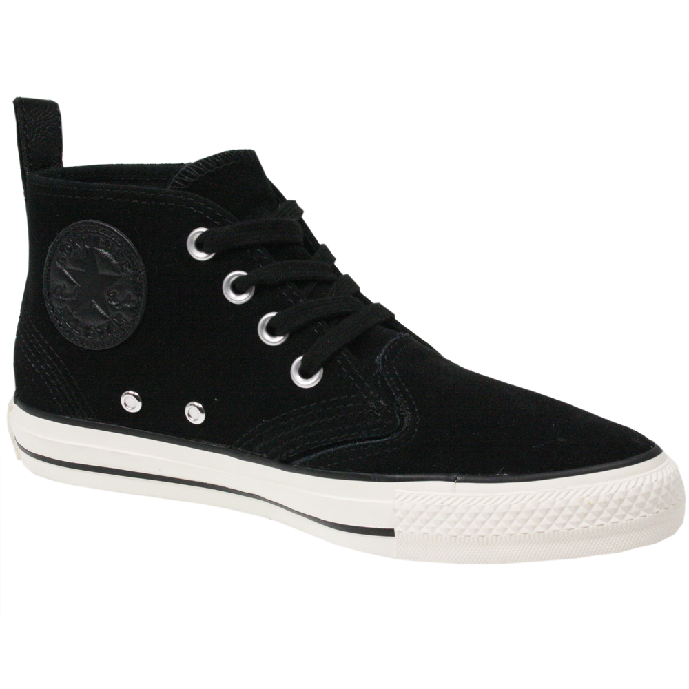 CONVERSE-UNISEX-ALL-STAR-CT-SUEDE-LEATHER-132470-BERKSHIRE-MID-BLACK-BOOTS-SIZE