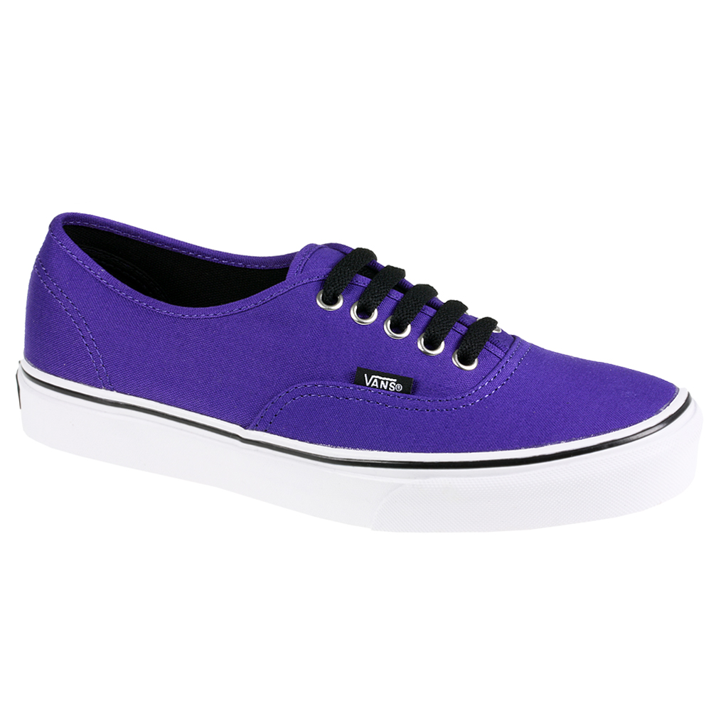 VANS AUTHENTIC CANVAS SKATE RED WHITE BLACK NAVY PURPLE ...