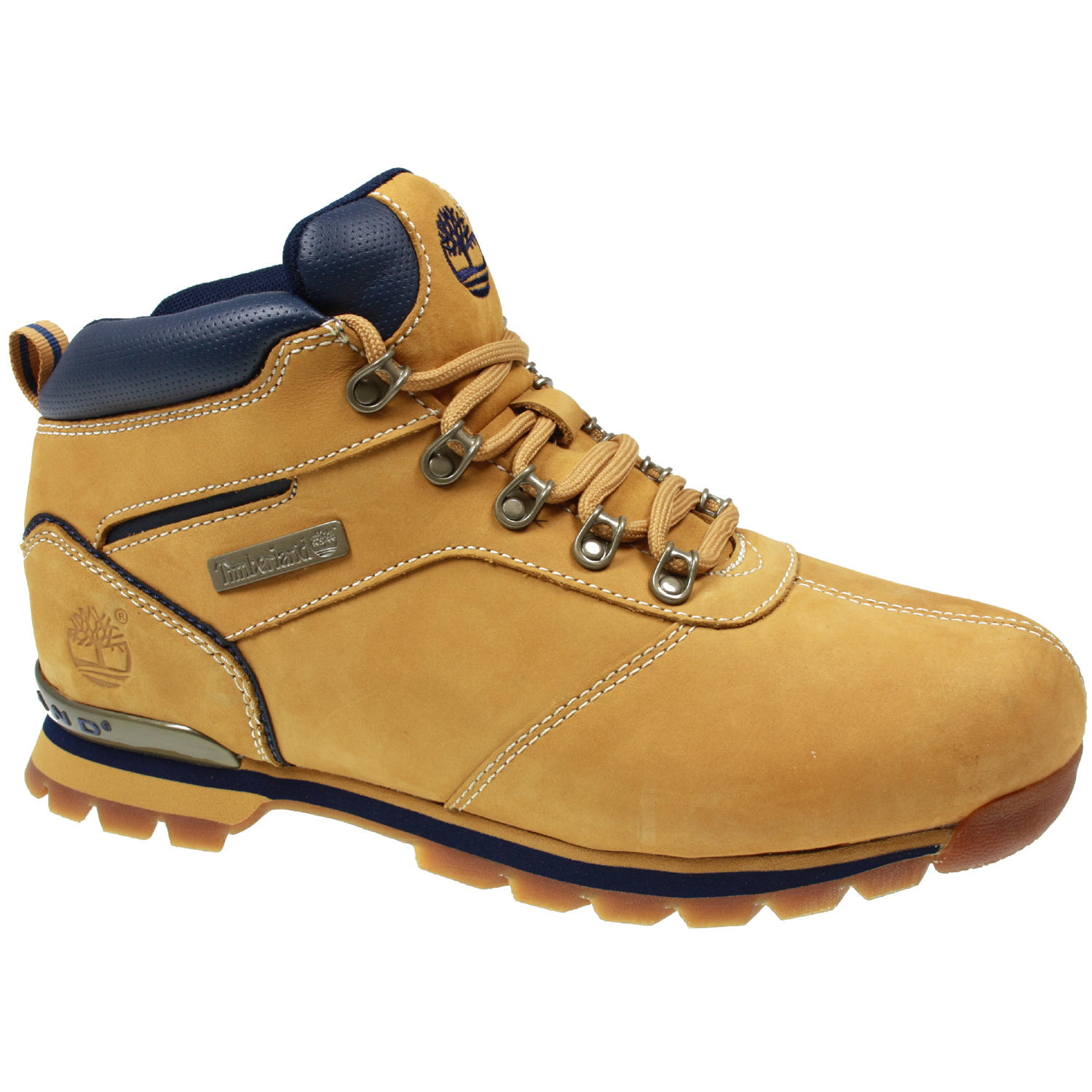 mens timberland splitrock 2 hiker nubuck leather wheat
