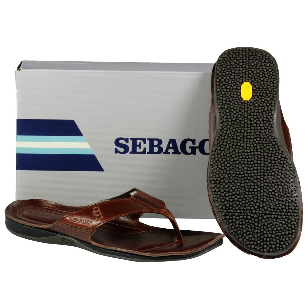 mens sebago open toe post vibram sole mules summer sandals