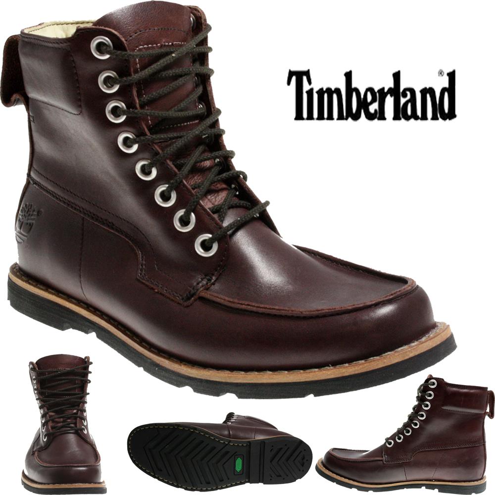 mens timberland 81515 earthkeeper 6 inch plum boots ebay