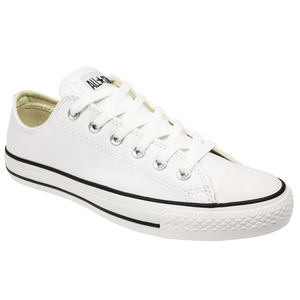 converse all chuck mens womens 1q550 white leather