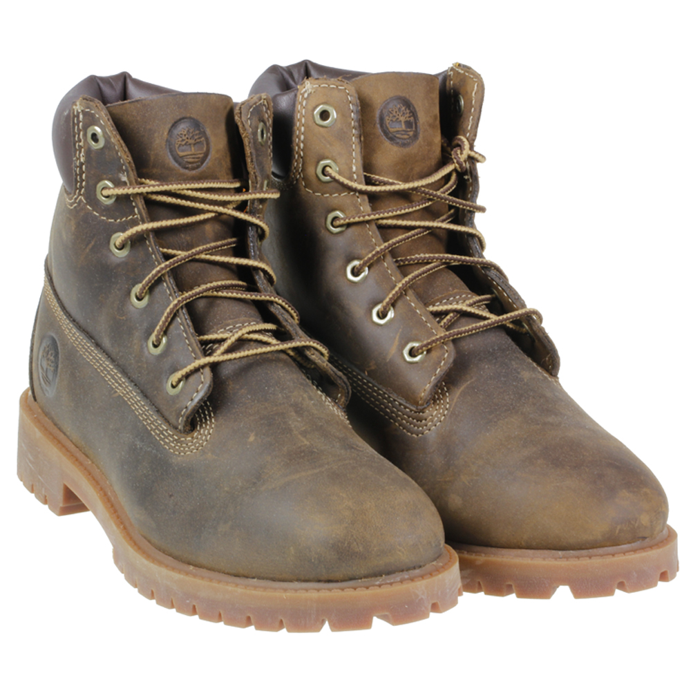 timberland 80903 6 quot waterproof lace brown leather