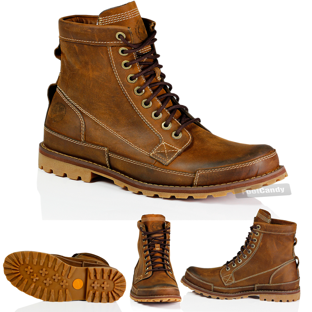 mens timberland 15551 earthkeeper 6 quot burnished brown