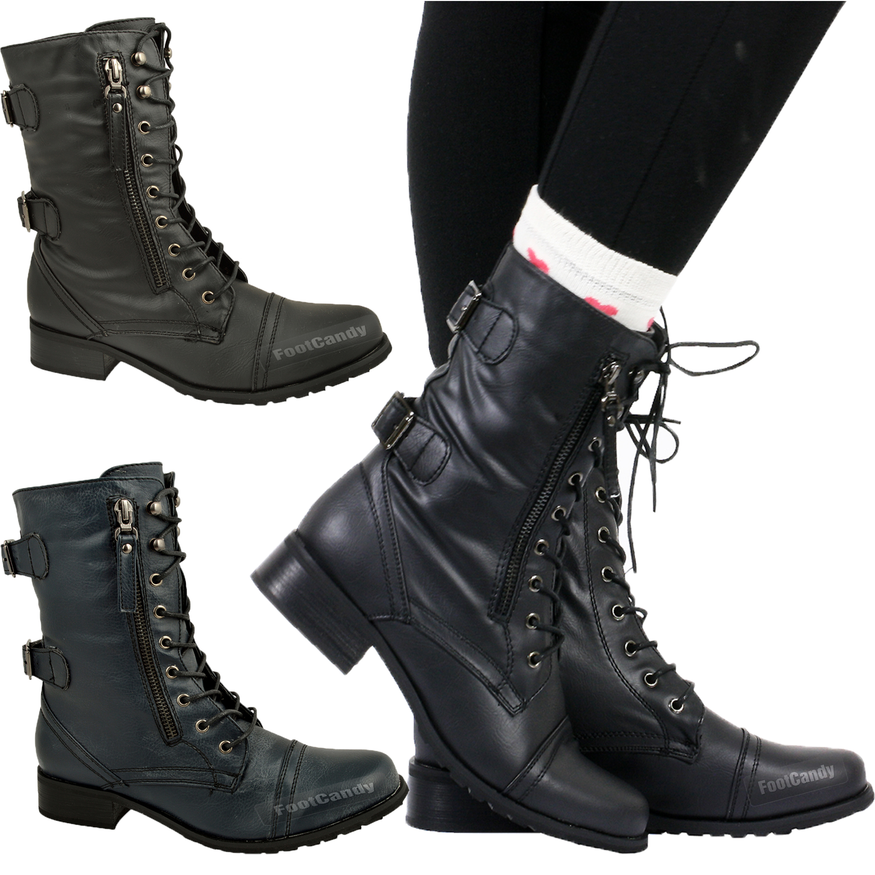 Combat Boots For Ladies - Boot Hto