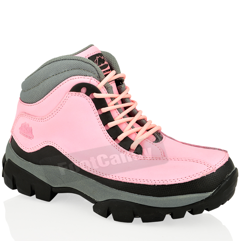 Womens Cat Steel Toe Shoes