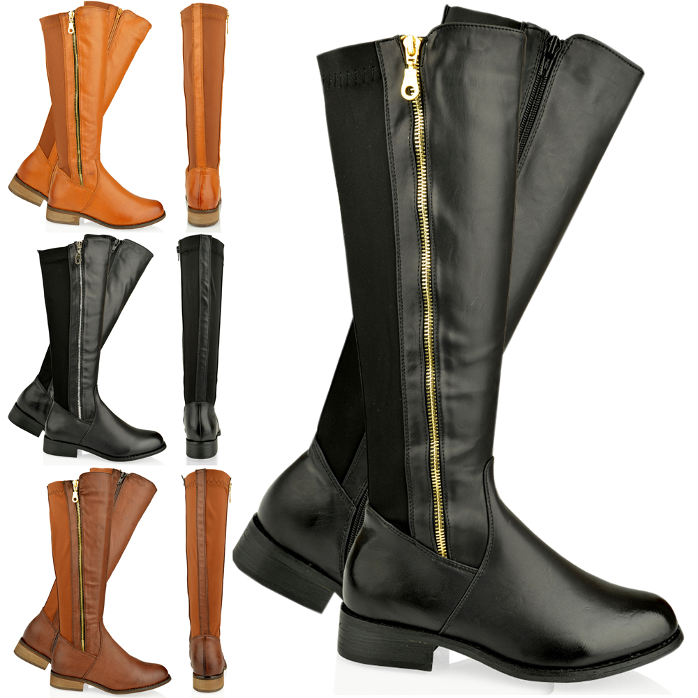 Flat Leather Boots For Women | Santa Barbara Institute for ...