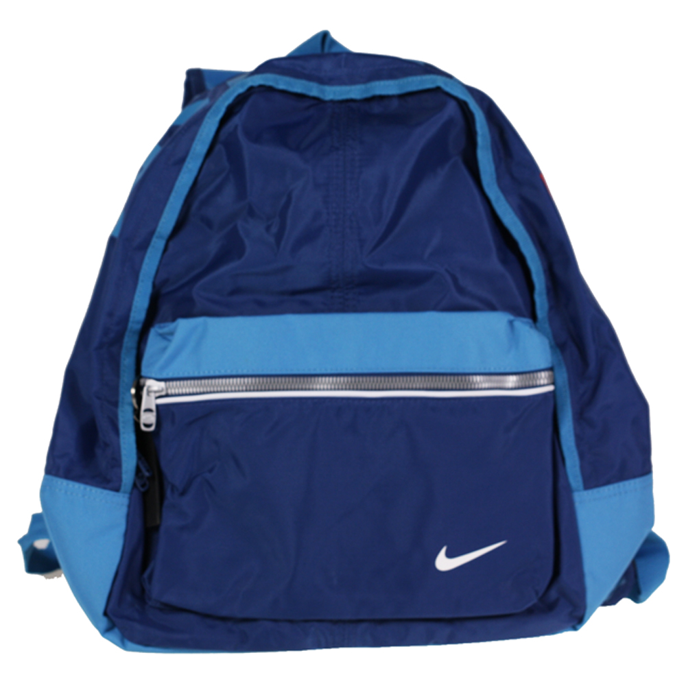 ... GIRLS NIKE JUST DO IT ADJUSTABLE ZIP STRAP SCHOOL WORK BLUE BACKPACK