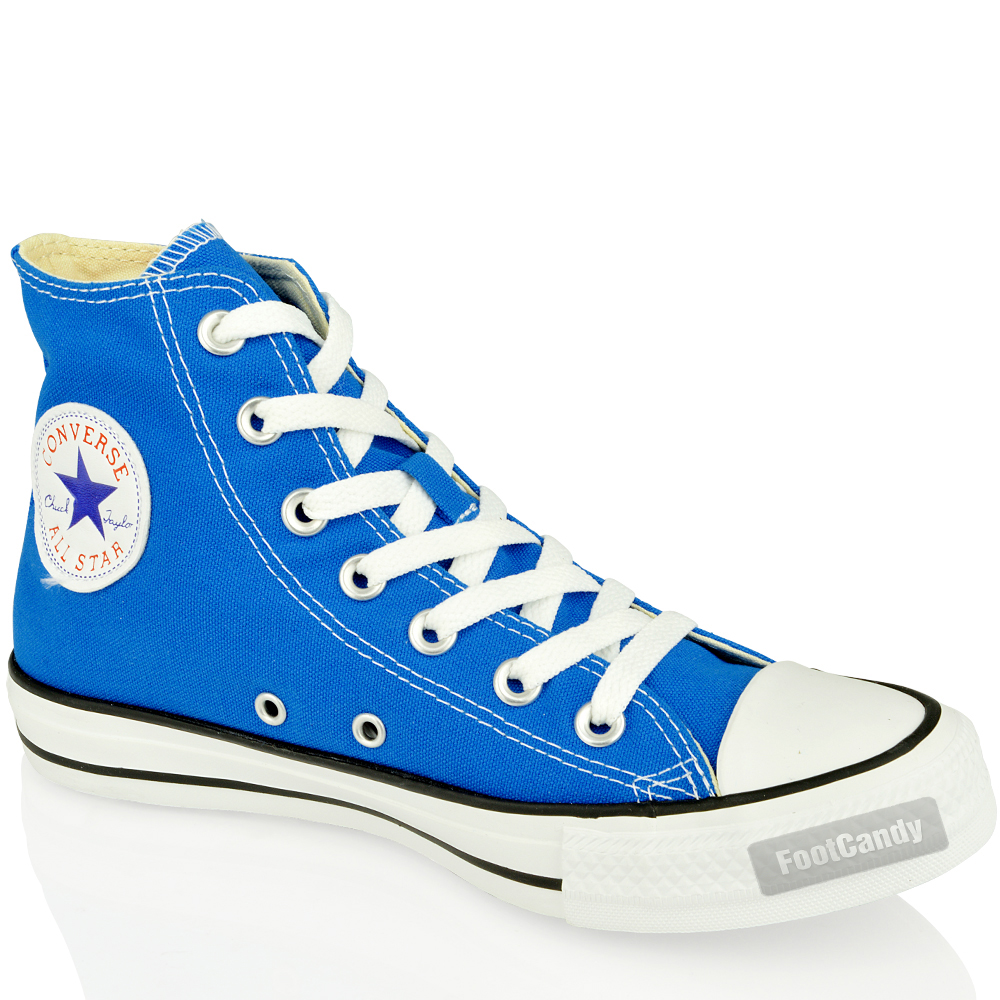 Converse-Canvas-Skate-Sneakers-Shoes-All-Star-Chuck-Taylor-139781-Blue-Hi-Size