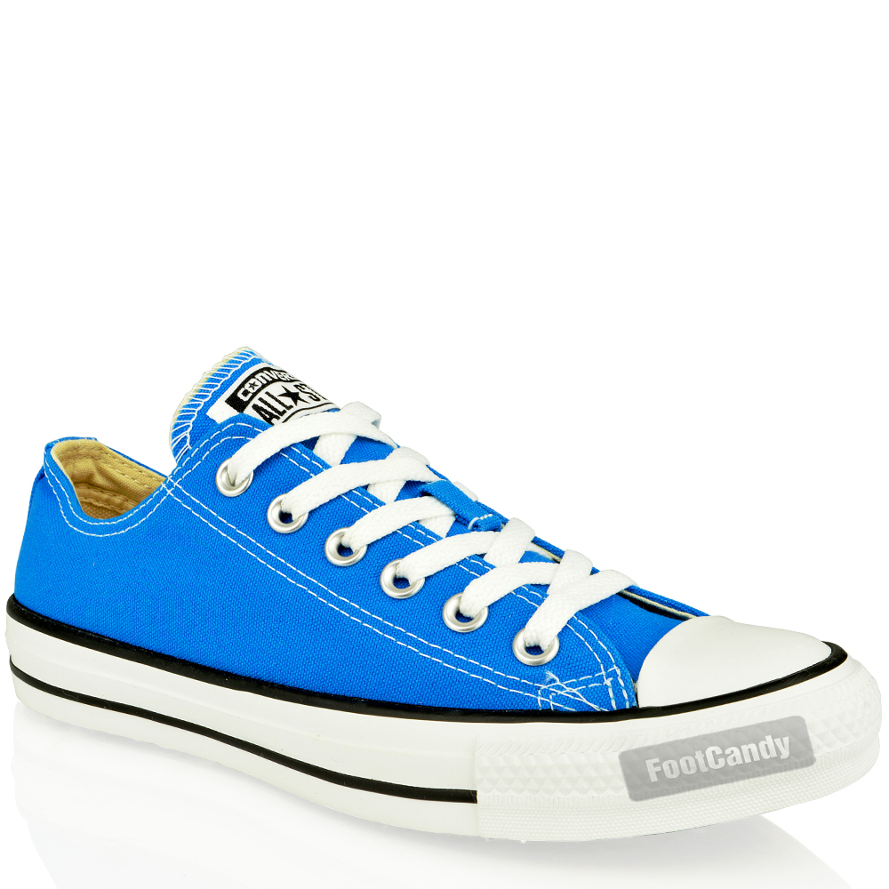 CONVERSE-ALL-STAR-CHUCK-TAYLOR-139791-BLUE-LOW-CANVAS-SKATE-SNEAKERS-SHOES-SIZE