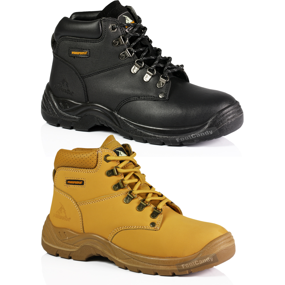 safety steel toe work industrial outdoor lace up