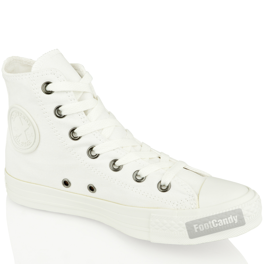 CONVERSE-ALL-STAR-CHUCK-TAYLOR-1U646-MONO-WHITE-HI-TOP-CANVAS-BOOTS-SHOES-SIZE