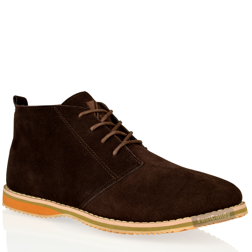 MENS-CASUAL-DESERT-CHUKKA-MID-LACE-UP-ANKLE-FLAT-LEATHER-SUEDE-BOOTS-SHOES-SIZE